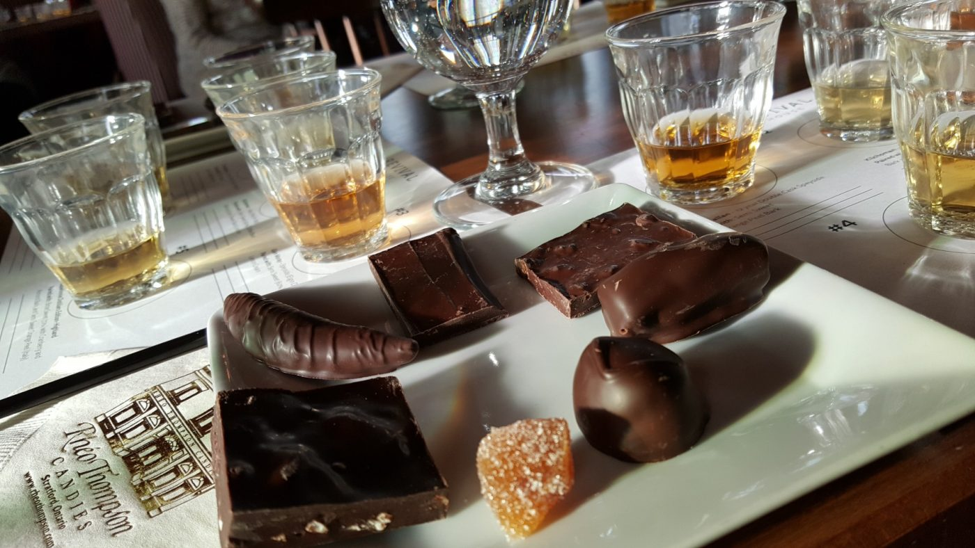 scotch and chocolate