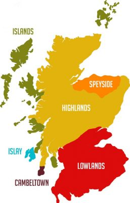 Scotch region map