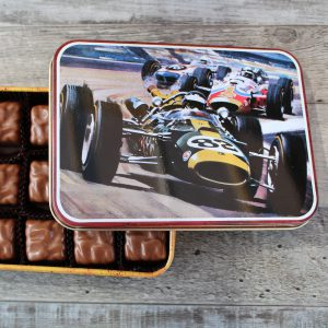 Racing Car Tin