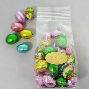 Chocolate Foil Wrapped Easter Eggs