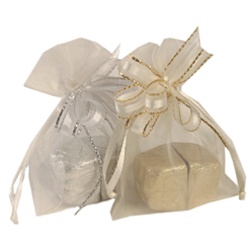 Organza Bag with Chocolates