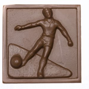Milk Chocolate Soccer Player