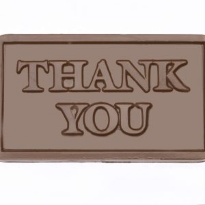 Milk Chocolate Thank You Card