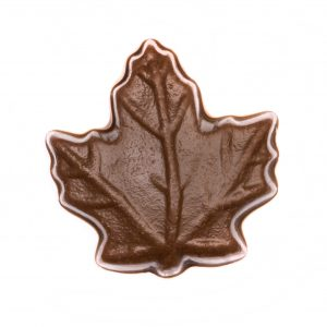 Milk Chocolate Maple Leaf