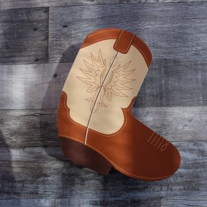 Chocolate Cowboy Boot Box
