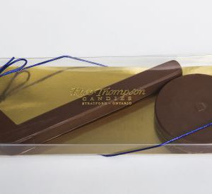 Milk Chocolate Hockey Stick and Puck
